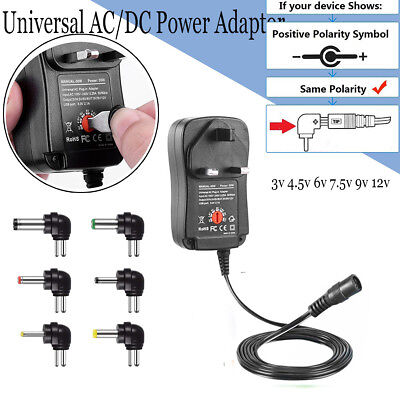 Mouse over image to zoom Universal-Mains-AC-DC-Power-Adaptor-Supply-Plug-Charge