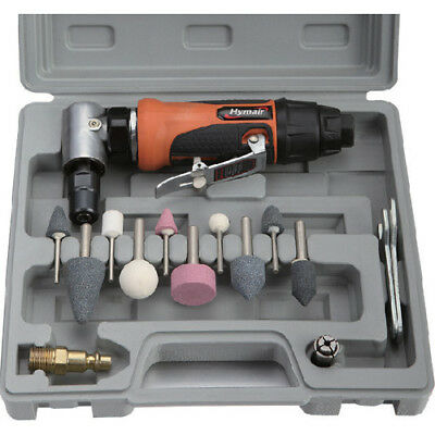 "Rdgtools 1/4"" (6Mm) Mini Air Angle Die Grinder Kit Metal Work Lathes Engineering"
