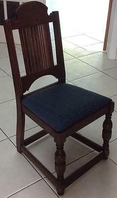 Old tavern~Joint kitchen dinning table primative~Chair william & Mary stretcher