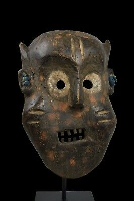 A Very Rare Old Ituri Pygmy Zoomorphic African Mask, African Art