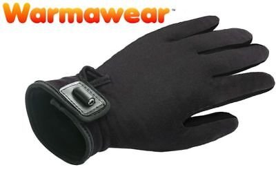 Deluxe Heated Motorcycle Glove Liners Battery Powered Heated Gloves by Warmawear