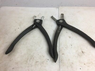 BLUE-POINT PAIR OF BODY CLIP REMOVAL PLIERS YA335 & YA336, Bundle FREE SHIPPING!
