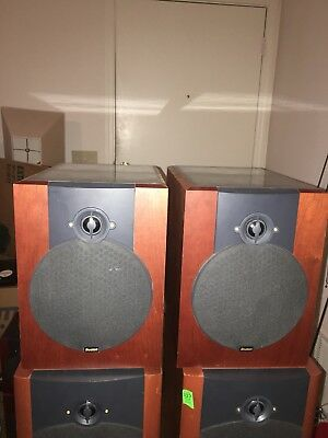 BOSTON ACOUSTICS VR M60 Vintage Bookshelf Speakers