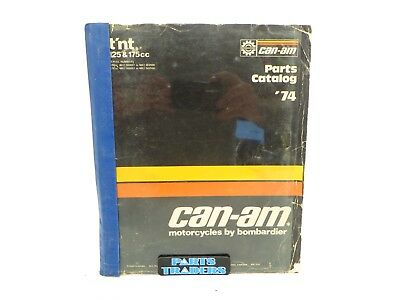 Oem Genuine Can-Am Parts Catalog Manual T'NT TNT 125 175 735009002 1974 '74