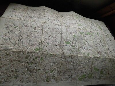 Rutland & Melton Mowbray-Stamford: East Midlands 1906-12 Antique Ordnance Map