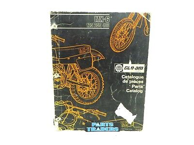 Oem Genuine Can-Am Parts Catalog Manual MX-6 125 250 400 735009020