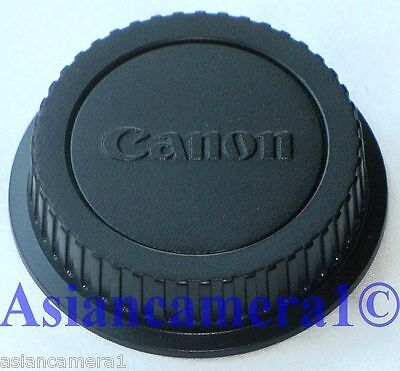 Rear End Dust Cap E For Canon EOS 5D 1000D MK2 7D 350D Camera Lens Back Cover