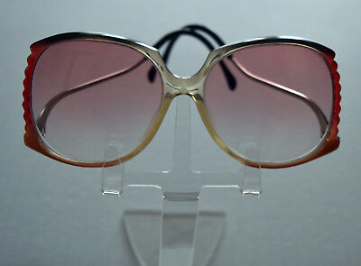 Amazing Vintage Oversized Huge Bug Butterfly Upside Down Glasses Sunglasses