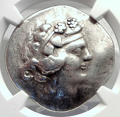 Celtic Celts Danube Silver Tetradrachm Greek Style Coin like THASOS NGC i72605