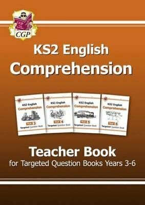 KS2 English Targeted Comprehension: Teacher Book Years 3-6 9781782944706