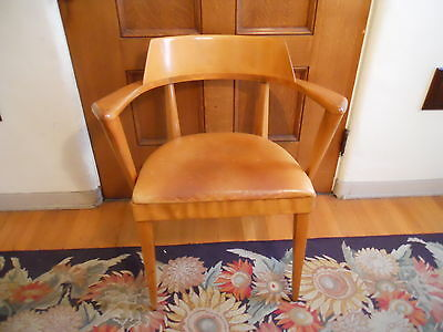 Heywood Wakefield Mid Century Modern Side Chair