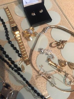 Large Job Lot Of Costume Jewellery Others Free Postage