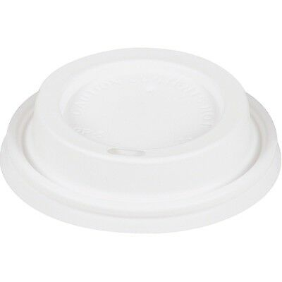 Starbucks Hot Beverage Cup Lids 85 Spill resistant White Plastic All Sizes