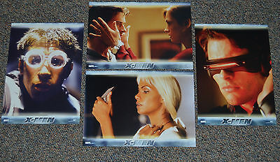 X-Men 2000 Original Lobby Card Set Of 8! Patrick Stewart Marvel Sci-Fi Classic!