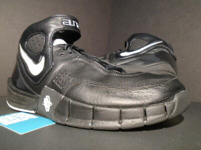 3bc62bac4539 2006 Nike Zoom Air Huarache Elite Tb Black White Chrome Silver 2K5 314183-010  11
