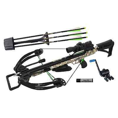 Carbon Express X-Force Piledriver 390 Crossbow Package - Badlands Camo