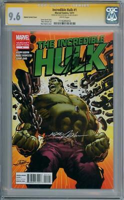 Incredible Hulk #1 Variant Cgc 9.6 Signature Series Signed Stan Lee Neal Adams