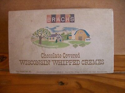 Brach's Chocolate Covered Wisconsin Whipped Cremes Box Lid