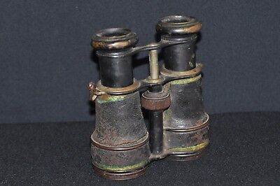 Antique Glaser Binoculars with Compass