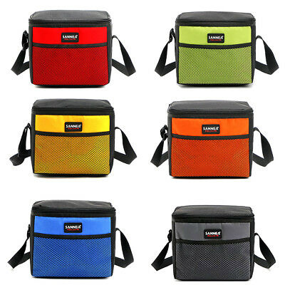 Portable Picnic Lunch Bag Box Insulated Storage Thermal Cooler For School Office