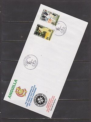 Anguilla- Lot 2187, Mint, First Day Envelope.