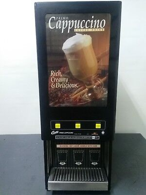 Curtis  Pc-3D-10-01 Cafe Series Cappuccino 3 Flavor / 3 Hopper Hot Chocolate