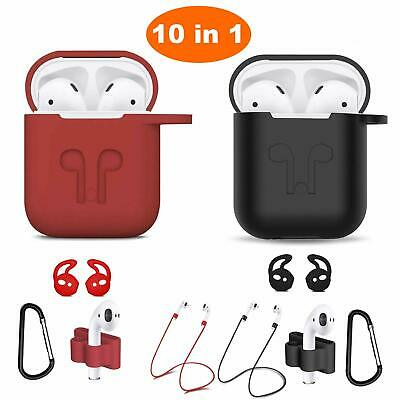 Owl Design Airpods Case Shockproof Protective Cover w/ Keychain Carrying Case