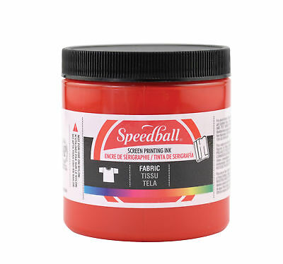 Speedball Art Products 4561 Fabric Screen Ink Red 8Oz