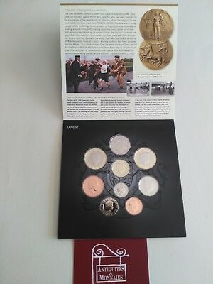 England Boxset Proof Box FDC Serie Coins Royal Mint 2008 REF27580