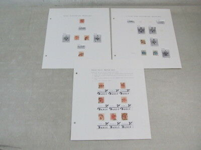 Nystamps Austria first issue stamp plating and cancel collection seldom seen