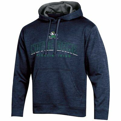 Men's Russell Navy Notre Dame Fighting Irish Synthetic Pullover Hoodie