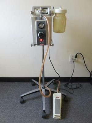 Ameda Egnell Compact 25 Suction Pump w/ Foot Switch, Filter & Stand