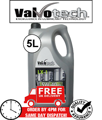 5W40  Fully Synthetic Pd Car Engine Oil 5L 5 L Litre 5W 40 5 40 Valvotech