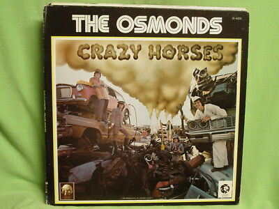 Lp / The Osmonds / Crazy Horses (Record Club Edition) (Canada)