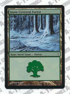 1 Snow-Covered Forest ~ Land Coldsnap Mtg Magic Common 1x x1