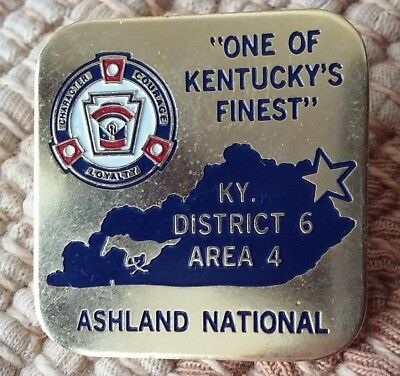 Ashland National KY District 6 Area 4 lapel pin pre-owned Little League Baseball