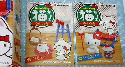73e78af83 SANRIO HELLO KITTY cat cafe Set , 2 pc only - Re-ment , h# - $9.80 ...