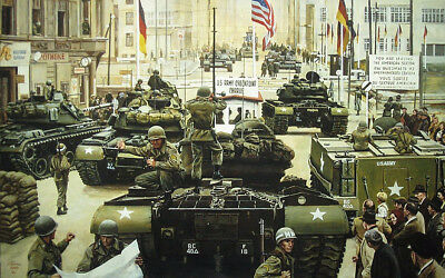 """""""Standoff at Checkpoint Charlie"""" Don Stivers Commemorative Edition"""