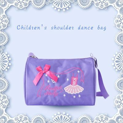 Girls Kids Ballet Dance Bags Handbag Tote Swim Shoulder Bag Embroidered Backpack