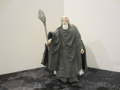 The Lord of the Rings Two Towers Gandalf Stormcrow Figure ToyBiz Loose Complete