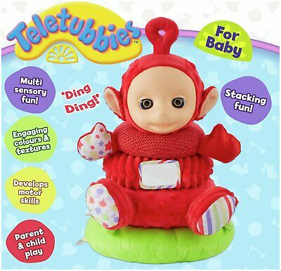 Teletubbies Stackable Po Soft Toy 29cm Tall 3+ Years