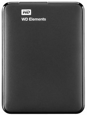 Externe Festplatte Western Digital WD Elements Portable HDD 2TB USB 3.0