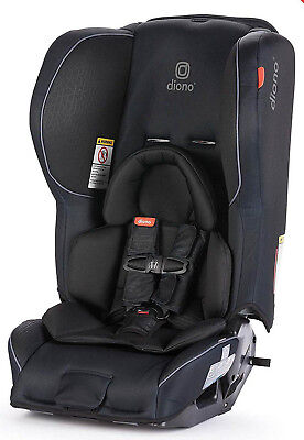 Diono Rainier 2 AX Convertible Child Safety Car Seat + Booster New 2018 Black