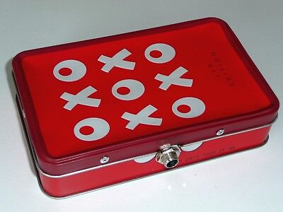 'OLD TIN STOMP BOX'. HAND MADE STOMP BOX. FROM AN OXO Ltd EDITION TIN.