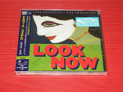 2018 Japan Shm Cd Elvis Costello & The Imposters Look Now With Bonus Tracks