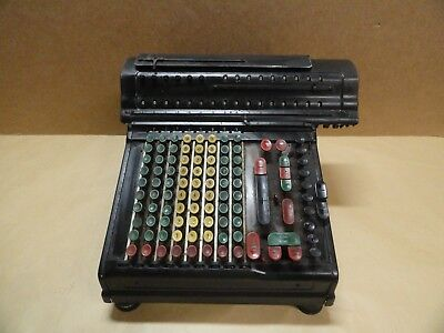 Vintage Marchant SD Adding Machine Calculator 1929 estate find