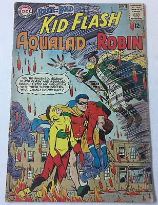 1964 Brave And The Bold #54 ~ 1ST TEEN TITANS Kid Flash, Aqualad, Robin