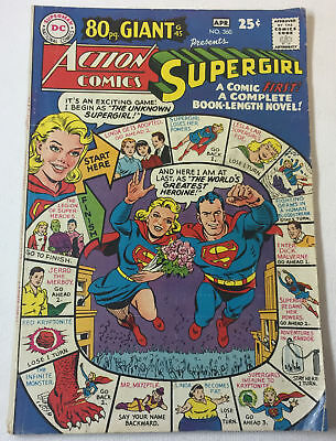 1968 ACTION COMICS #360 ~ Superman, Supergirl ~ 80 Page Giant