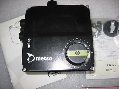 Metso Neles NP726S/S1 Single Action Pneumatic Valve Positioner