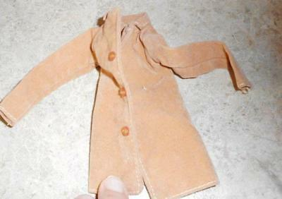 Tan Faux Leather Coat for Tiny Kitty Doll